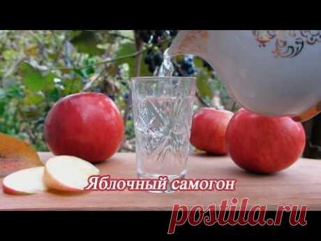 Самогон из яблок в домашних условиях с дрожжами и сахаром простой рецепт