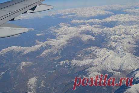 Интересное об Испании - Коста Бланка по-русски. Испания с борта самолета