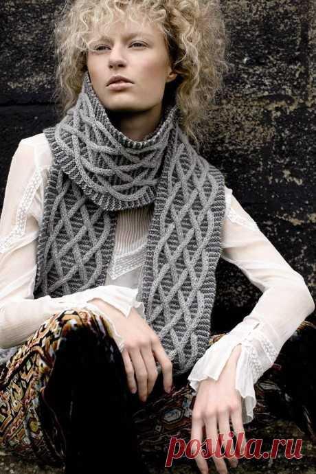 Шарф спицами от Martin Storey, Вязание для женщин
