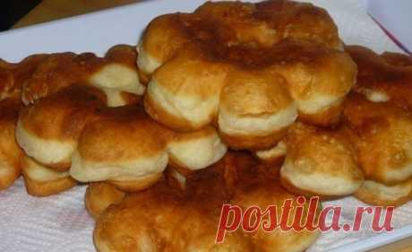 Donuts on kefir: