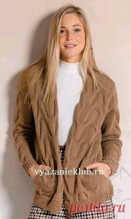 Кардиган для женщин - Вязание спицами для женщин - Каталог файлов - Вязание для детей
