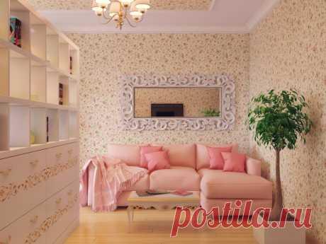 Интерьер квартиры для молодой девушки | Роскошь и уют