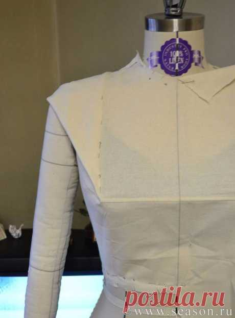Изготовления одежды методом макетирования: подготовка манекена + базовая основа