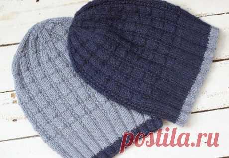Вязаная шапка Edge | Салон эксклюзивного вязания