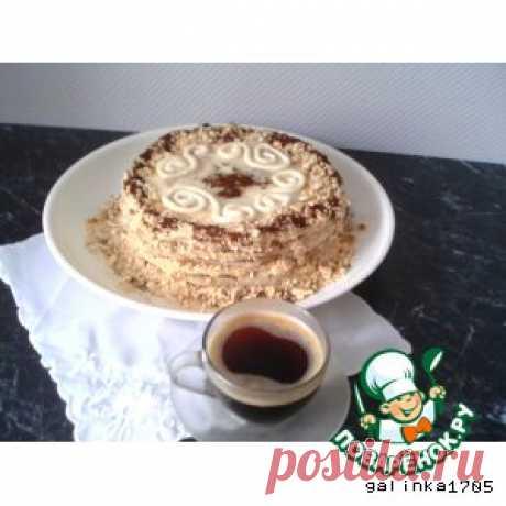 """Торт """"Минутка"""" - кулинарный рецепт"""