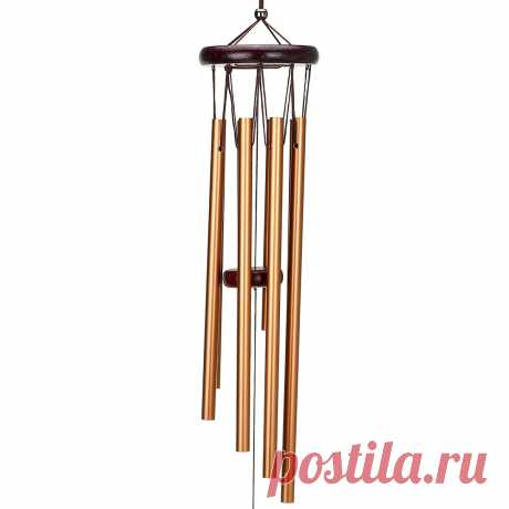 25.6inch Hanging Wind Chime Garden Handmade Decor Gift 8 Tubes - US$7.49