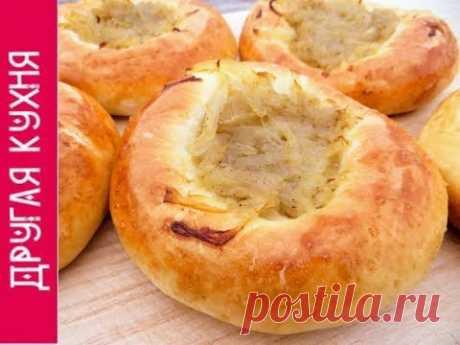 Лепешка с луком - вкуснятина из простых продуктов!