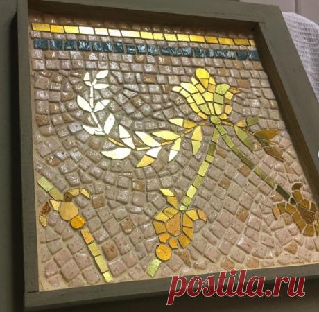 Мозаика #смальта #Мозаичное панно
