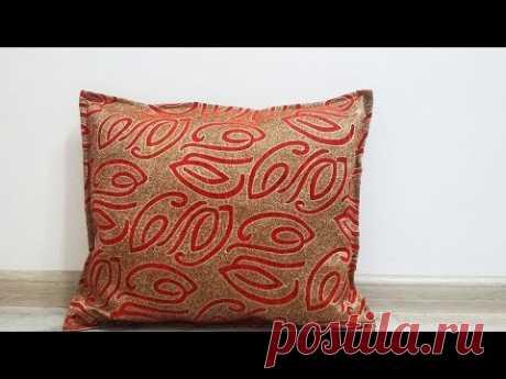 Декоративная подушка. Пошив наволочки своими руками