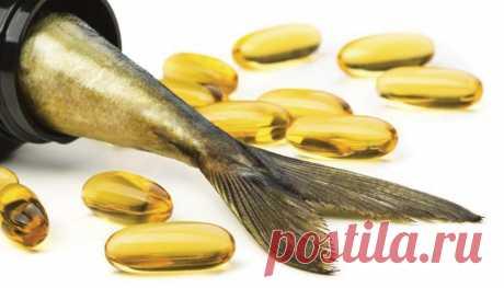 Рыбий жир для похудения и роста мышц