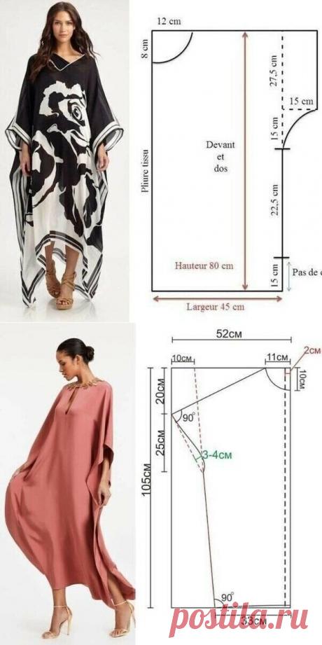 Платья свободного кроя для любой женской фигуры: выкройки и как сшить своими руками | Самошвейка | Яндекс Дзен