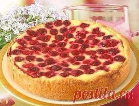 Пирог-сметанник быстрого приготовления