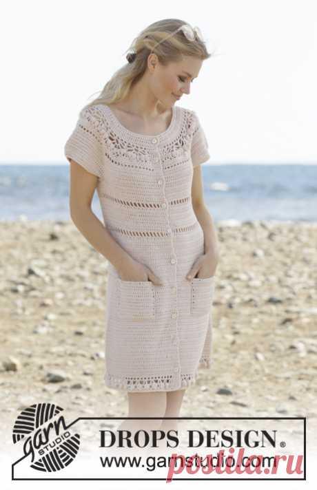 Платье крючком Sandy Shores - блог экспертов интернет-магазина пряжи 5motkov.ru