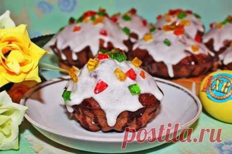 Шоколадный кулич рецепт с фото пошагово - 1000.menu