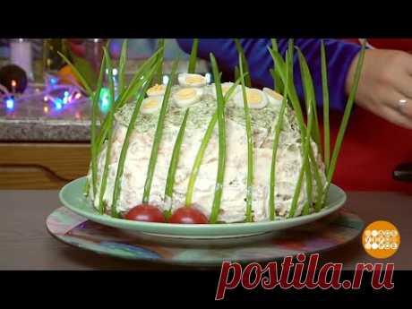 Бутербродный торт от Марии Суровой. 04.01.2020