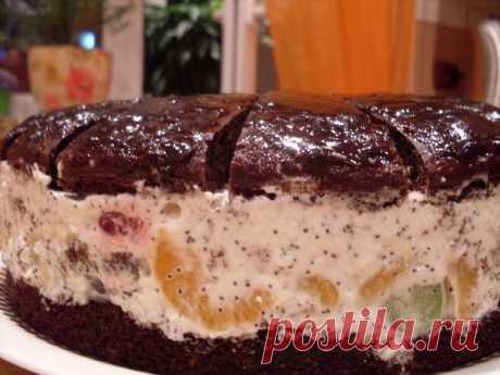 Как приготовить торт африканская ромашка - рецепт, ингредиенты и фотографии