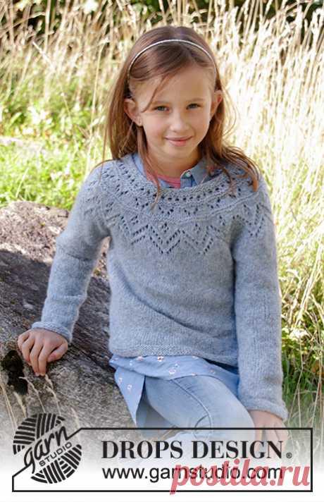 Детский джемпер Agnes от DROPS Design - блог экспертов интернет-магазина пряжи 5motkov.ru