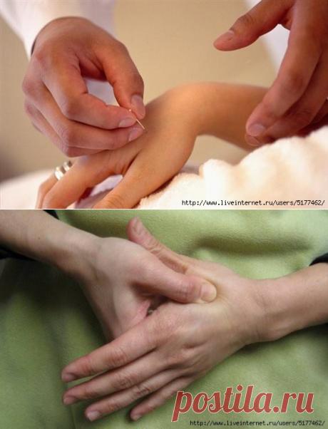 Лечение одним касанием пальца. Это не магия! Вот что будет, если регулярно делать массаж этой точки...