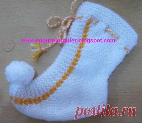 *Турецкие* детские носочки.
