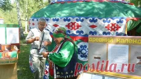 На празднике Односельчан в дер. Бурангулово в 2014 году.