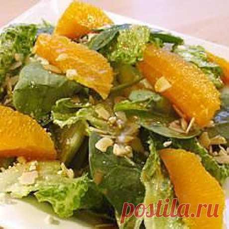 Рецепт: Французский салат с апельсином и авокадо - все рецепты России