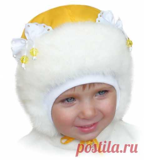 Модные детские шапки 2016
