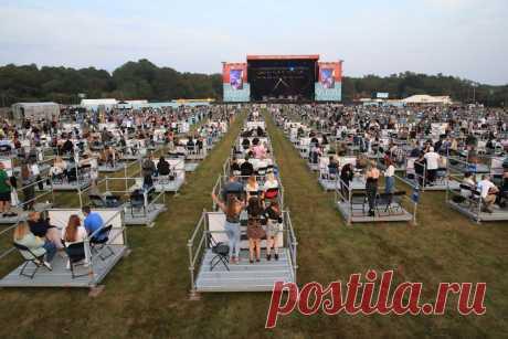 7 фото первого фестиваля с социальной дистанцией Концерт на платформах.