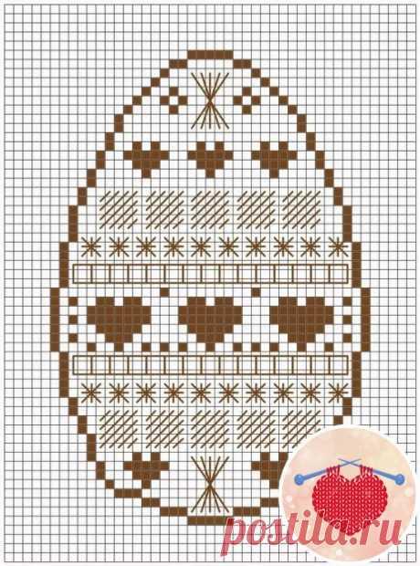 Схемы с орнаментами для пасхальной вышивки Подборка в весеннюю творческую копилочку вышивка