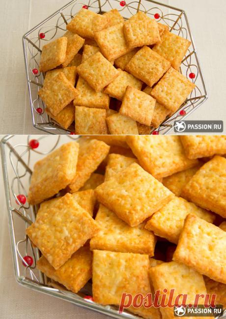 Самые вкусные крекеры можно приготовить только дома!