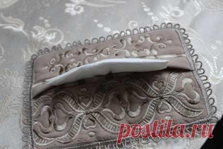 конверт для бумажных носовых платочков
