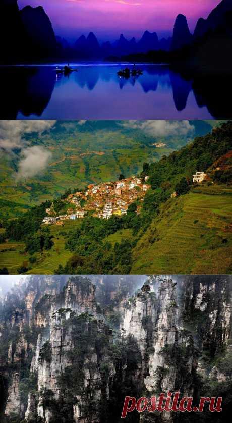Пейзажи Китая от фотографа Thierry Borniez