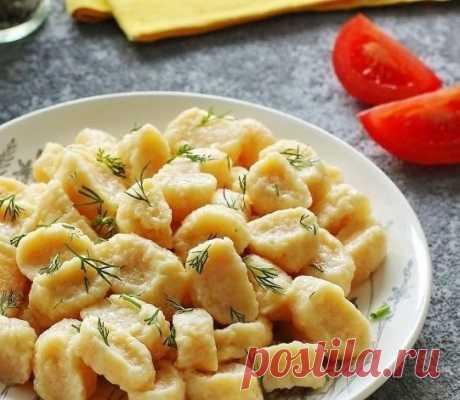 Сырные галушки