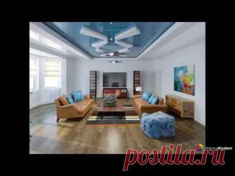 Двухуровневые натяжные потолки для зала (47 фото) материалы, форма, цвет