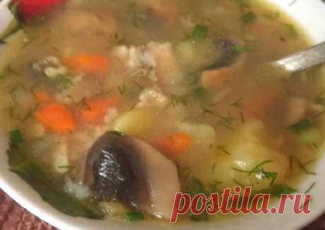 (4) Овсяный суп с грибами - пошаговый рецепт с фото. Автор рецепта Ирина Внукова 🏃♂️ . - Cookpad