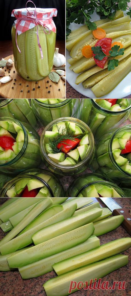 Постигая искусство кулинарии... : Кабачки маринованные (самые вкусные!!!)