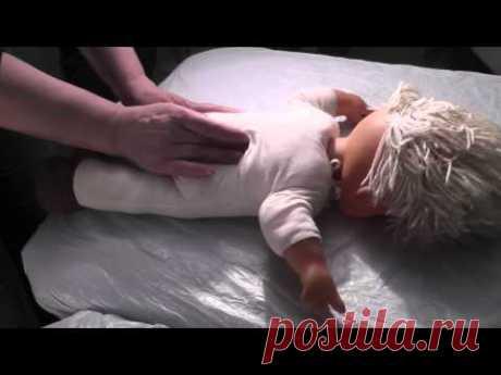 Детский массаж 3 (школа Надежды Ким) - YouTube