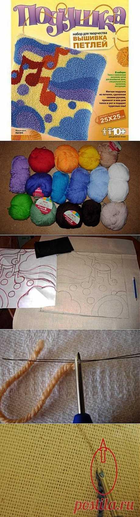 Вышивка петлей