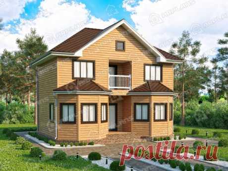 Проект каркасного дома 7х9