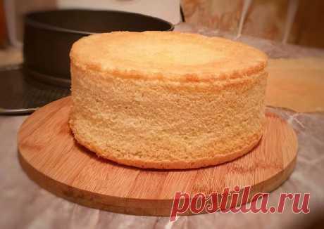 Секрет высокого бисквита без высокой формы + тортик из него😋 - пошаговый рецепт с фото. Автор рецепта Oksana Chagina . - Cookpad