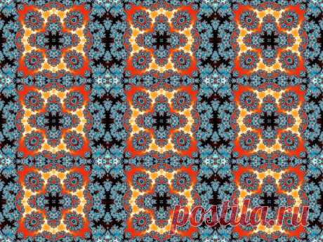 Fractal Seamless Pattern  Free Stock Photo HD - Public Domain Pictures