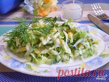 """Салат """"Летний"""" - пошаговый рецепт с фото на Повар.ру"""