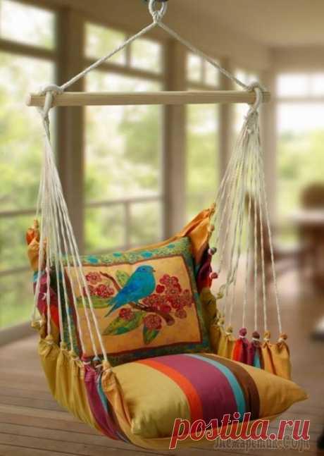 Самые необычные подвесные кресла