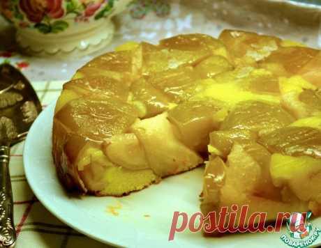 """Яблочный пирог """"Янтарный"""" – кулинарный рецепт"""