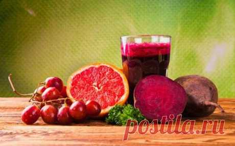 Напиток из свеклы, изюма и лимона для чистки и восстановления печени