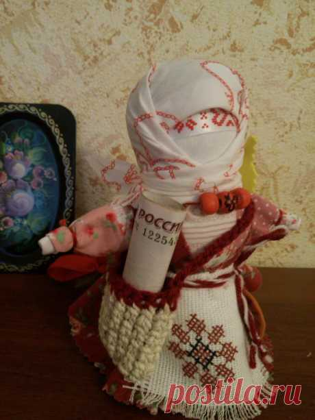 Творим обережную куклу «Успешница» – Ярмарка Мастеров