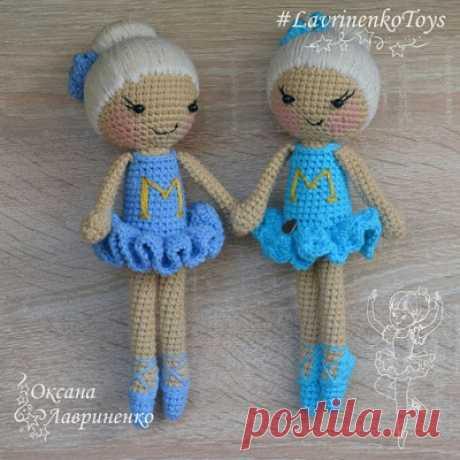 1000 схем амигуруми на русском: Кукла балерина амигуруми
