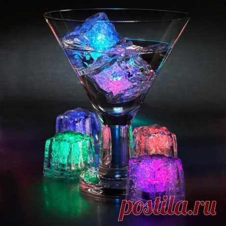 Разноцветные ледяные кубики. Вашу вечеринку запомнят:) $9 USD