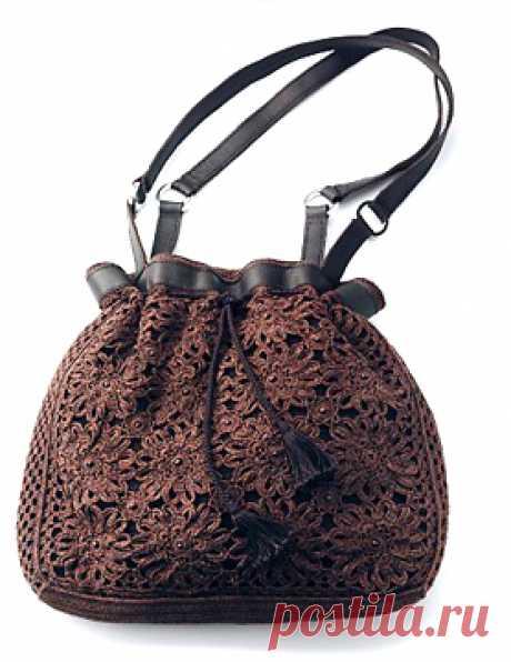 Шикарная сумочка в технике ИК