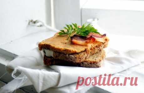 Паштет из отварного мяса, красной чечевицы и сушеных томатов | Lendryggen