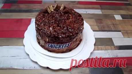"""Быстрый #торт """"Сникерс"""""""